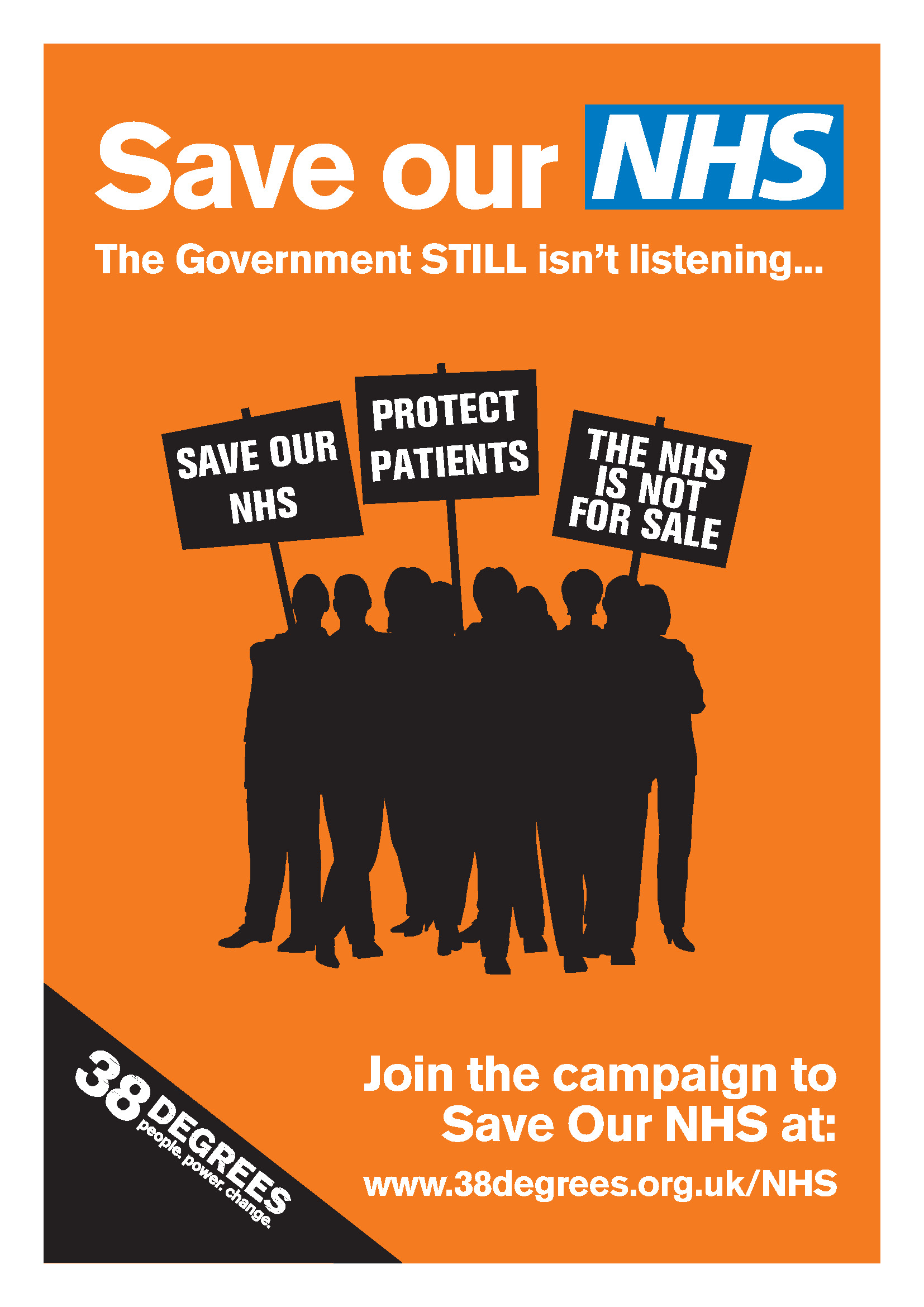 Save our NHS link