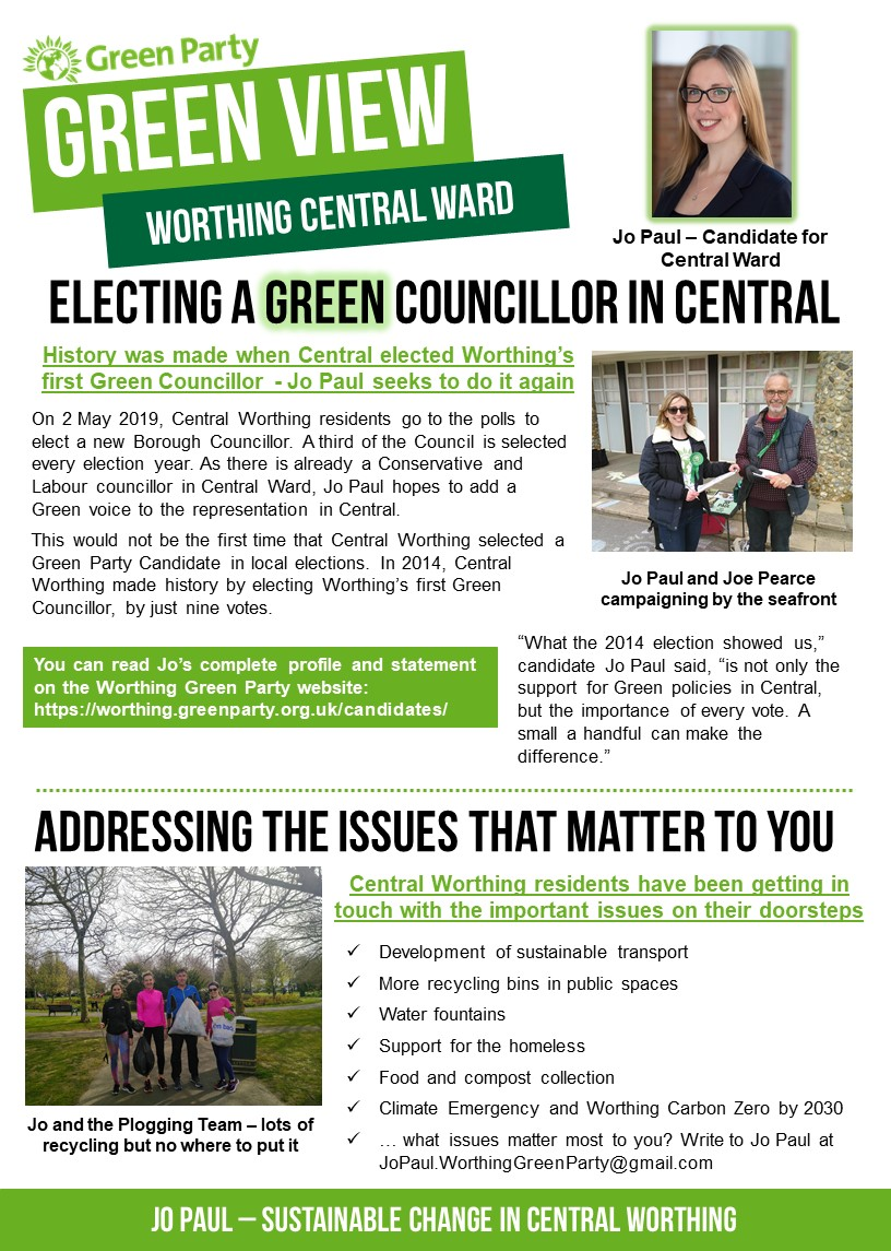 page 1 election newsletter